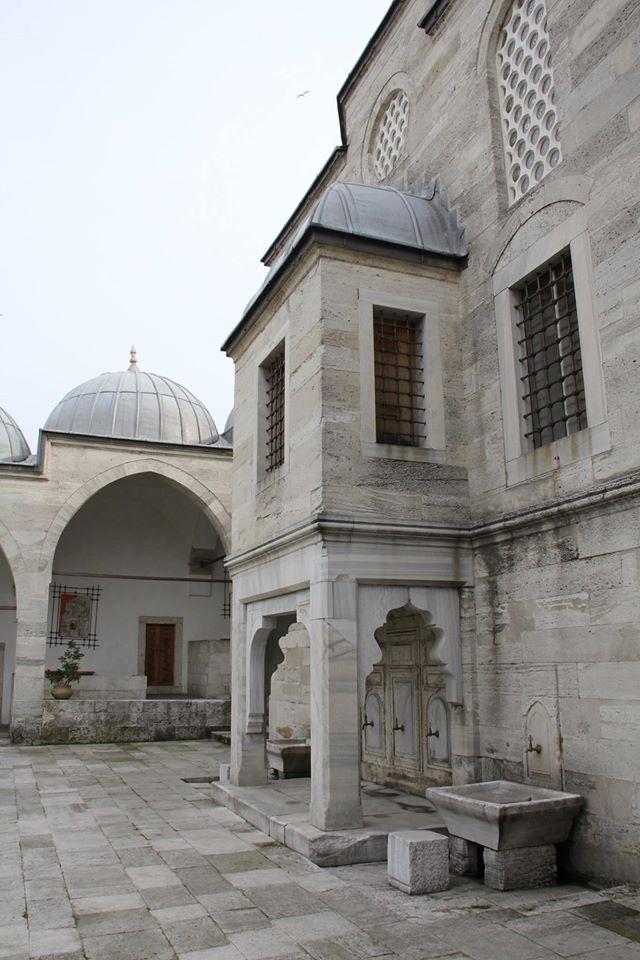Turkey courtyard