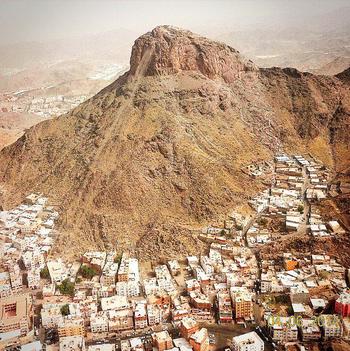 Jabal al-Nūr (Mountain of Light) - Cave Hirā, Makkah Mukarramah