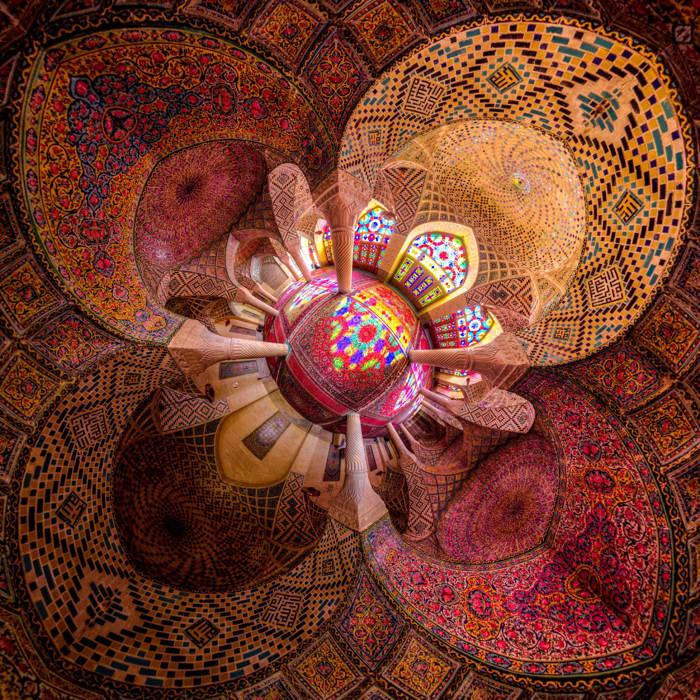 "Photo ""The Nasir al-Mulk Mosque"" (Shiraz, Iran) -Mohammad Reza Domiri-Ganj"