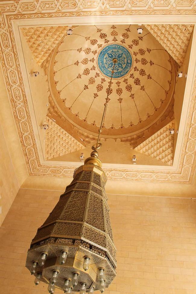 lantern under dome