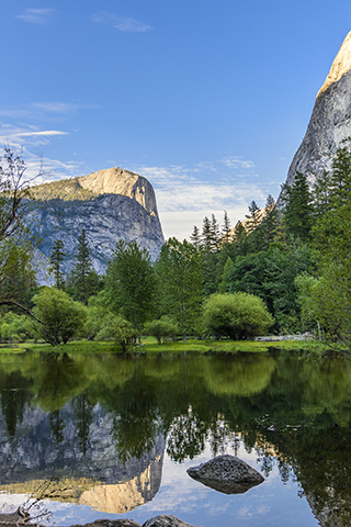 Photo Mirror Lake Yosemite National Park - by cbrooks5678