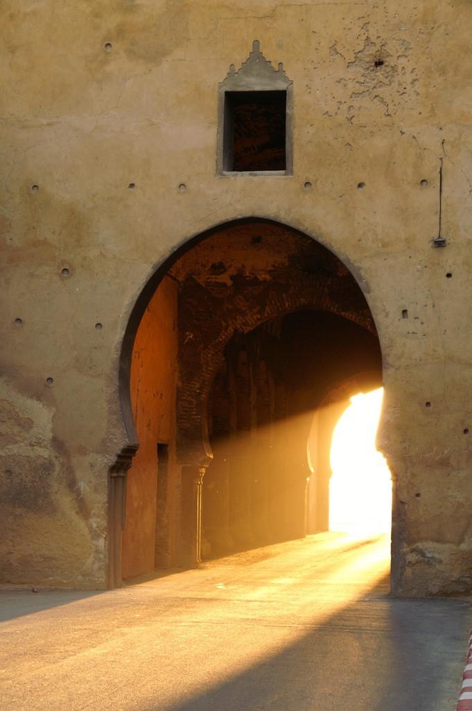 light thru doorway